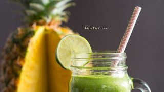 Pineapple and Kale Juice