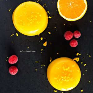 Costa Rican Orange Pudding
