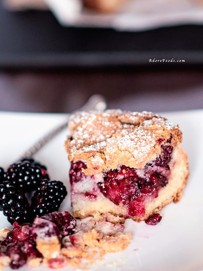 Croatian Blackberry Pie (pita od kupina)