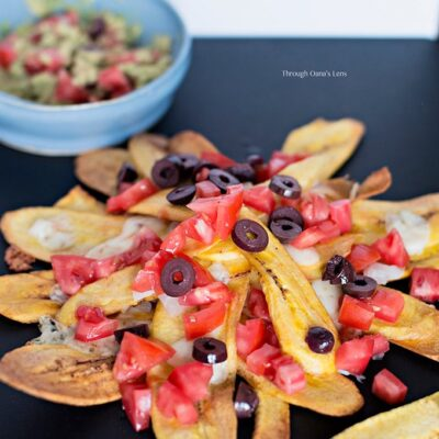 Colombian Plantain Nachos | Adore Foods