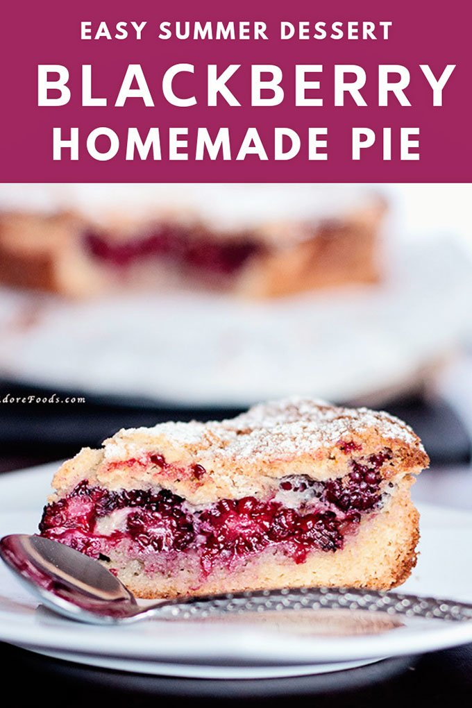 easy homemade blackberry pie recipe