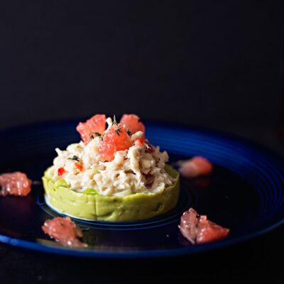 Crab and Avocado with Pink Grapefruit Salad | Adore Foods