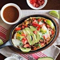 Easy Vegetarian Huevos Rancheros Recipe