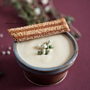 Potato and Blue Cheese Soup