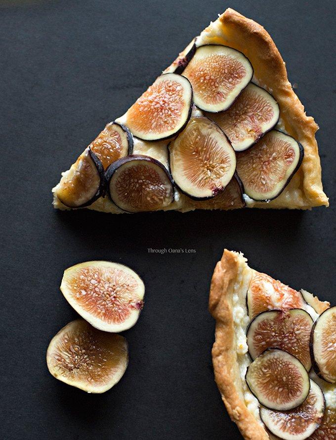 Fresh Fig Tart with Orange Mascarpone Filling
