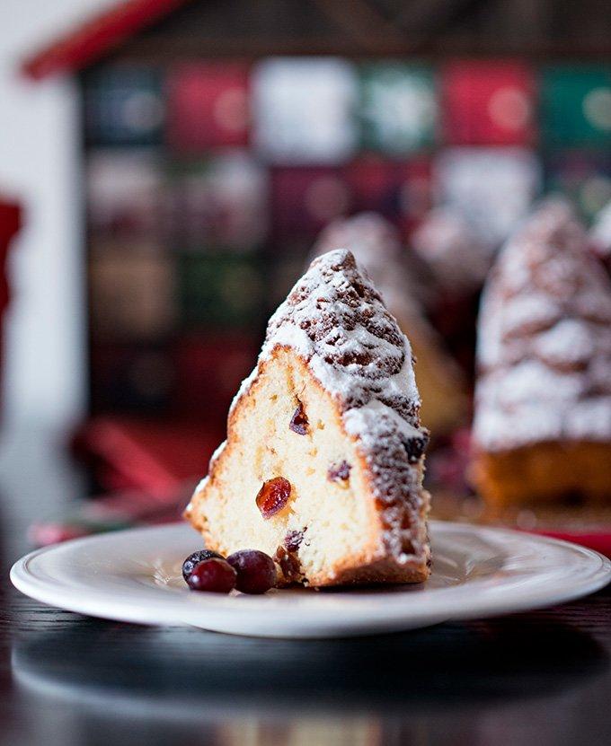Cranberry Clementine Bundt Cake