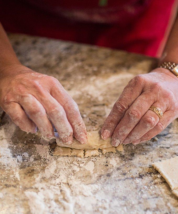 Hungarian Kifli Cookies Recipe