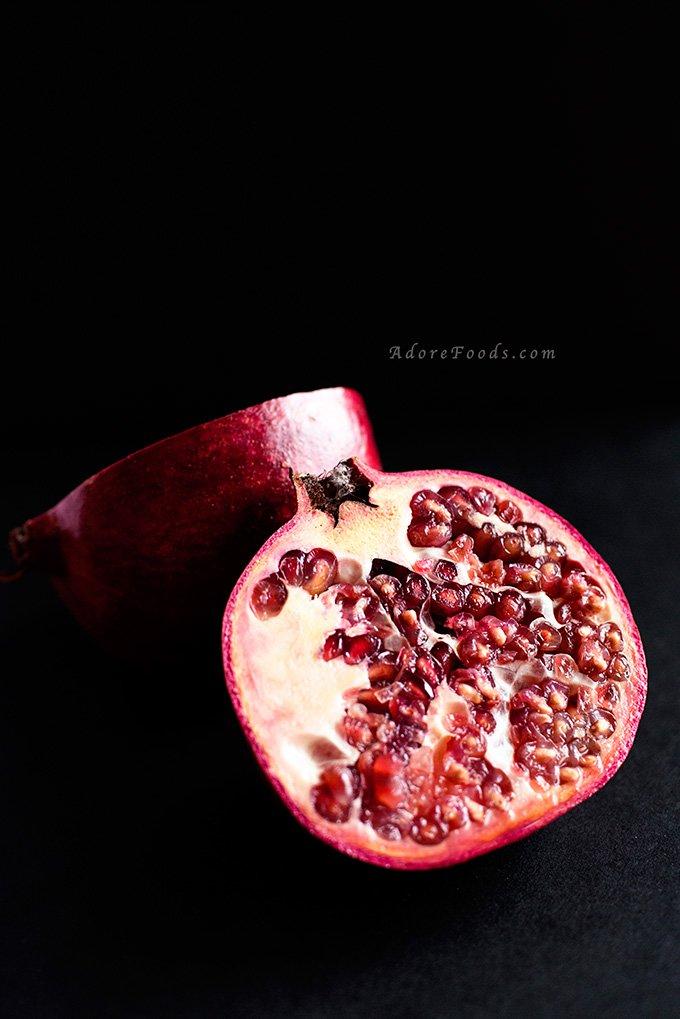 Pomegranate Citrus Scones