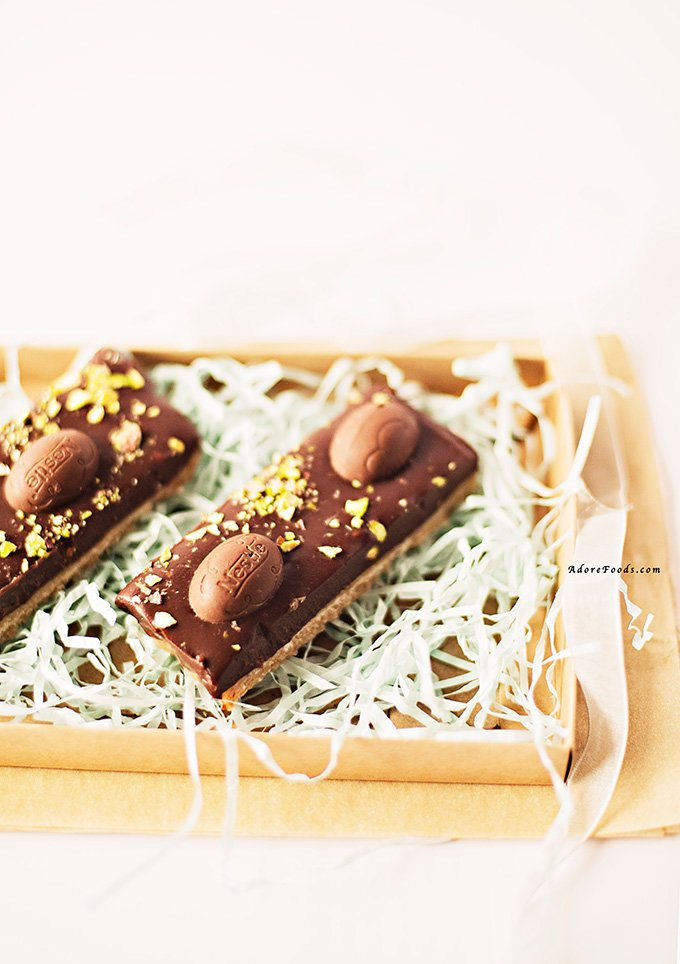 Easter Chocolate Slice