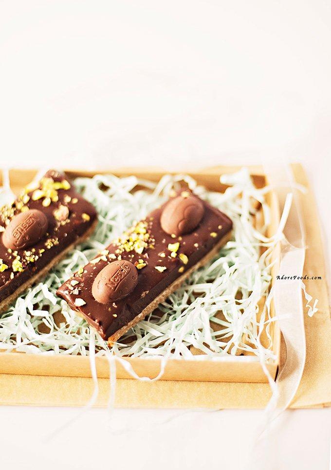 Easter Chocolate Slice