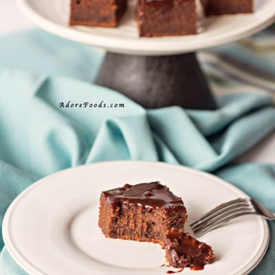 St Patrick's day Guinness Brownies