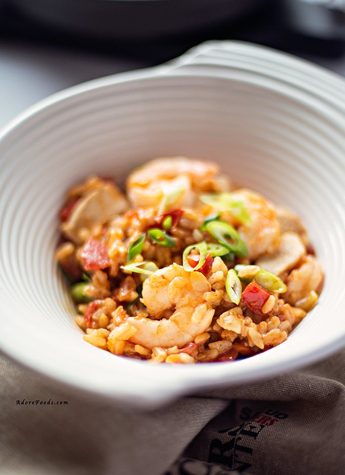 ... jambalaya chicken and shrimp jambalaya man pleasin jambalaya recipes