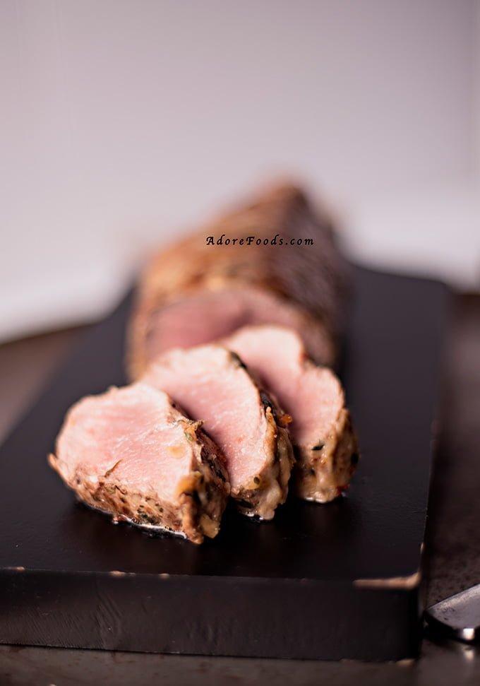 Brazilian Pork Tenderloin with Parmesan Crust