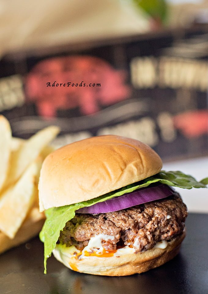 Southwestern beef sliders with chipotle mayo