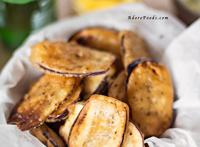 Greek Fried Eggplant Recipe