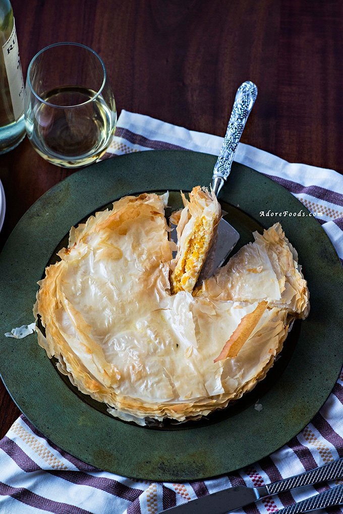 Kolokithopita (Greek Zucchini Pie) Recipe — Dishmaps