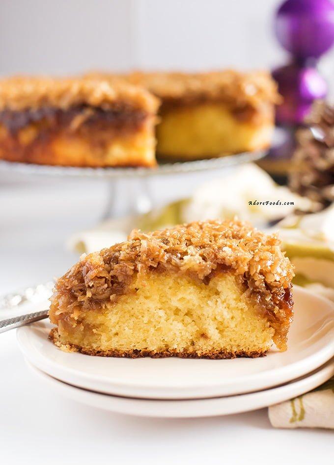 Danish Coconut Dream Cake Recipe