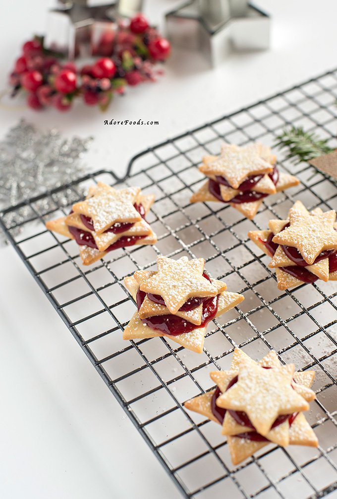 German Terrassen Kekse Christmas cookies