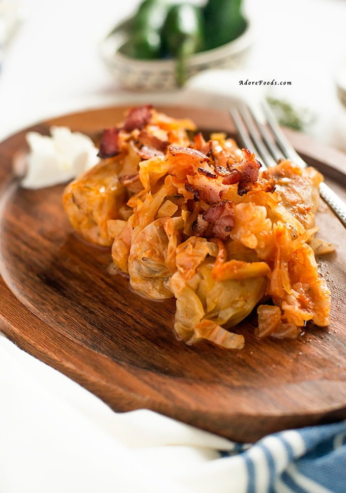 Romanian Cabbage Rolls Christmas