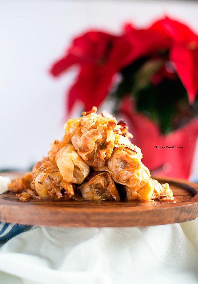 Romanian Cabbage Rolls Christmas