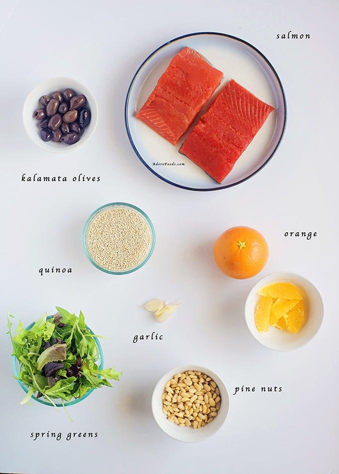 Orange Glazed Salmon with Quinoa