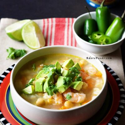 Quick and Easy Mexican Seafood Soup