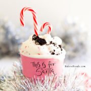 No churn peppermint candy cane ice cream