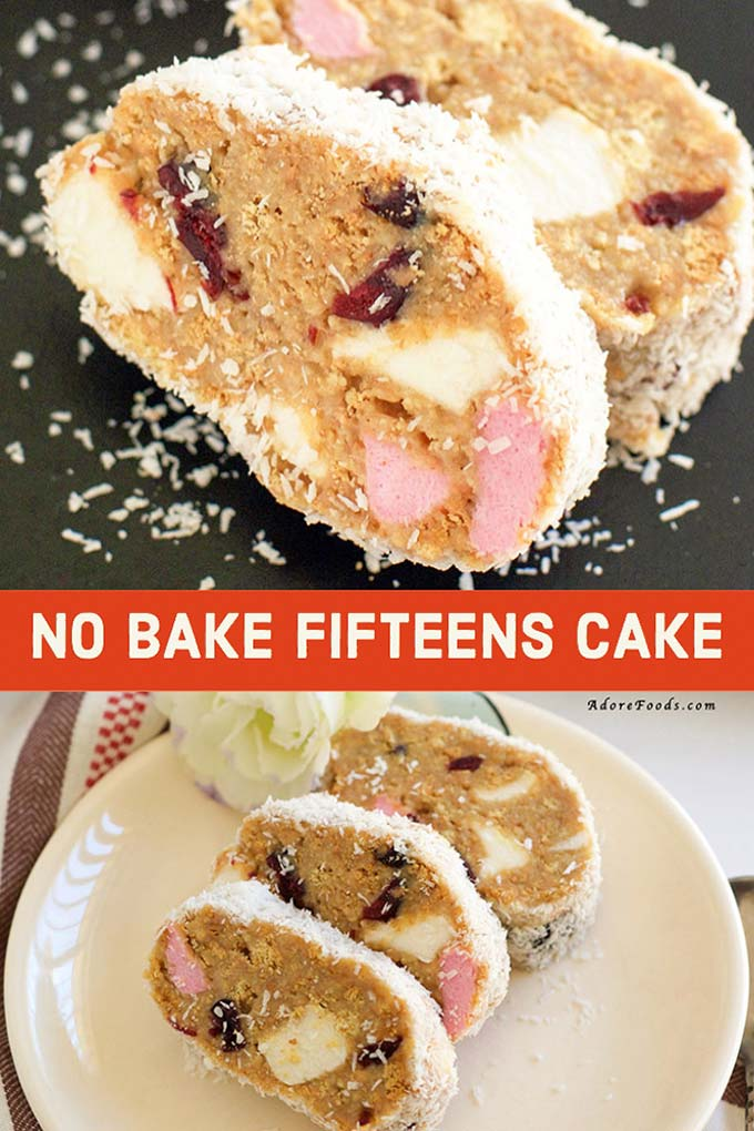 No Bake Fifteens Recipe, an easy traybake recipe (variations included)