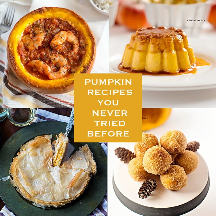 Pumpkin Recipes You Never Tried Before