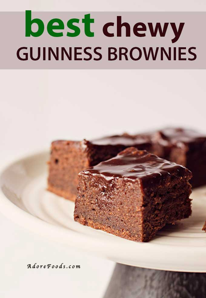 best chewy guinness brownies