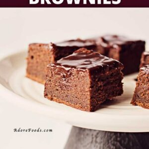 fudgey guinness brownies