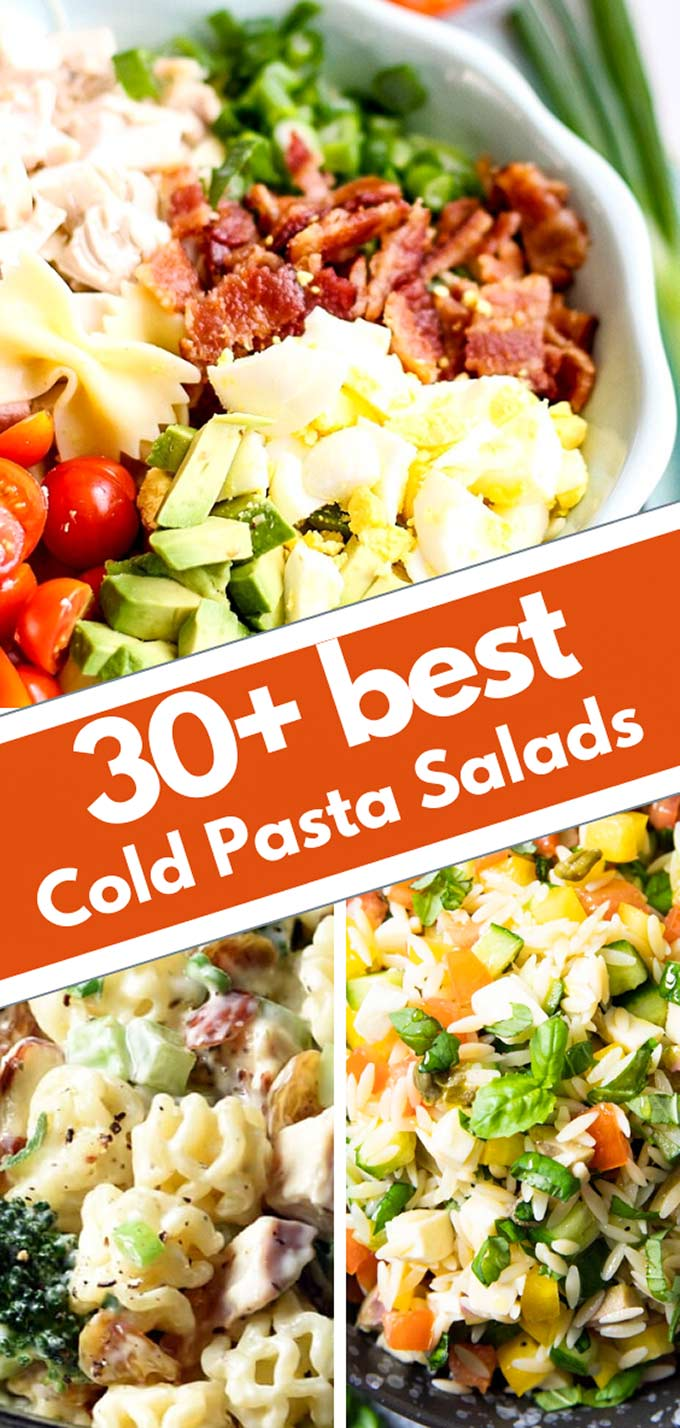 collection of cold pasta recipes